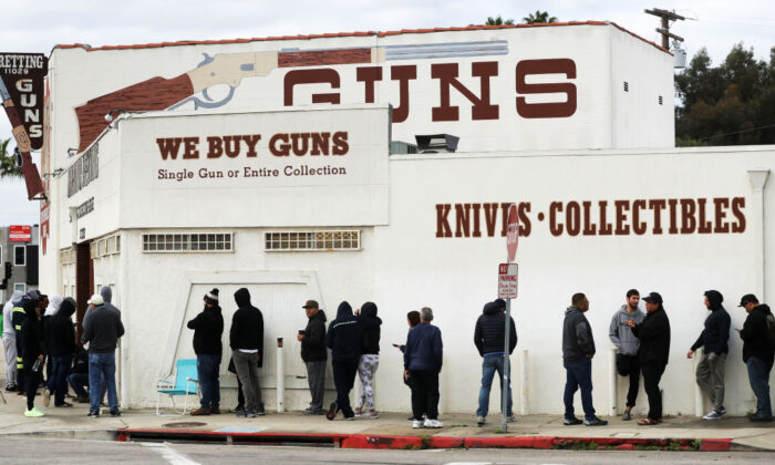 Epoch Times: SoCal Gun Sales Shoot Through the Roof